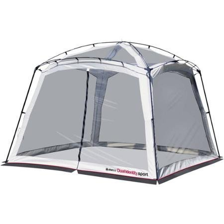 Dual Identity Sport Three Shelters In One 10' x 10' No-See-Mesh 360 Degree View Screen House Canopy
