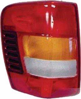 QP A7236-a Jeep Grand Cherokee Driver Tail Light Lens & Housing Aftermarket