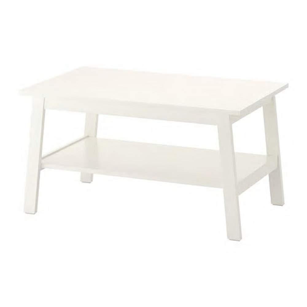 IKEA/イケア LUNNARP:コーヒーテーブル90x55 cm ホワイト (303.990.17) B07HD21G2T
