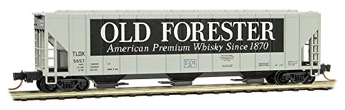 (Micro-Trains MTL N-Scale 3-Bay Covered Hopper Old Forester/TLDX #5657)
