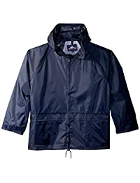 Portwest US440NAR5XL Regular Fit Classic Rain Jacket, 5X-Large, Navy