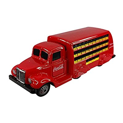 Motor City Classics 1937 Coca-Cola Bottle Truck (1:87 Scale), Red: motor City Classics: Toys & Games