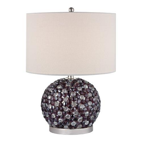 Dimond Lighting D2492 Amethyst Stone Accent Lamp, 15.0
