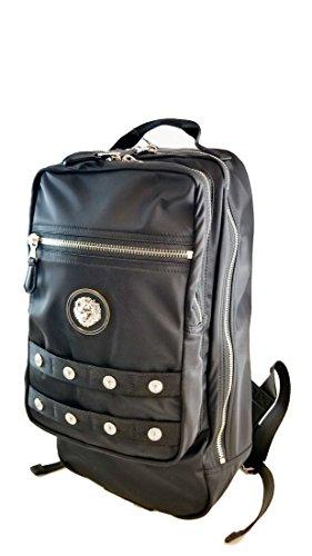 Authentic Versace Versus Lion Medallion & Studs Fashion Backpack (Lion - Lion Versace