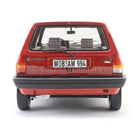 1981 Volkswagen Polo II Type 86c Hatchback Fox Rojo 1:18 BoS-Models 055: Amazon.es: Juguetes y juegos