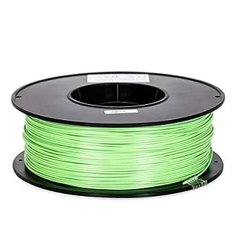 Inland 1.75mm Peak Green PLA 3D Printer Filament - 1kg Spool (2.2 lbs)