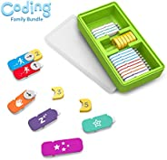 Osmo - Coding Family Bundle for iPad & Fire Tablet - 3 Hands-on Learning Games - Coding Awbie, Coding Jam