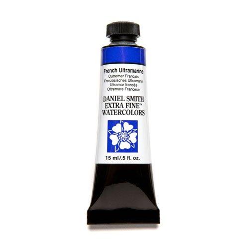 (DANIEL SMITH Extra Fine Watercolor 15ml Paint Tube, French Ultramarine)