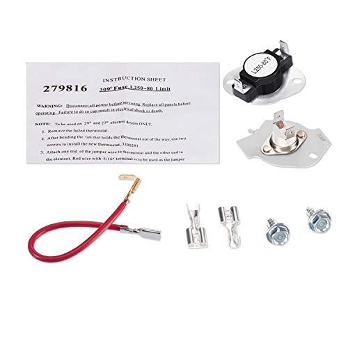 whirlpool thermostat kit - 7