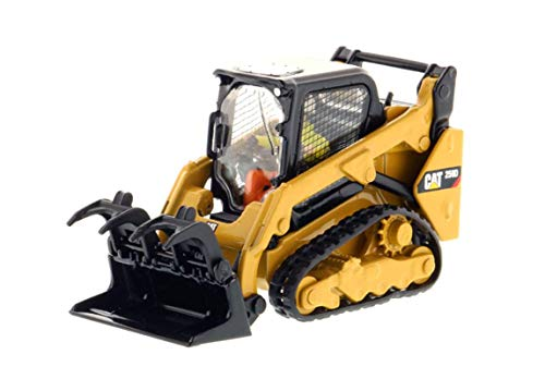 Caterpillar 1:50 259D Compact Track Loader, Construction Vehicle Model High Line Series 85526 Excavator Truck Car Collection