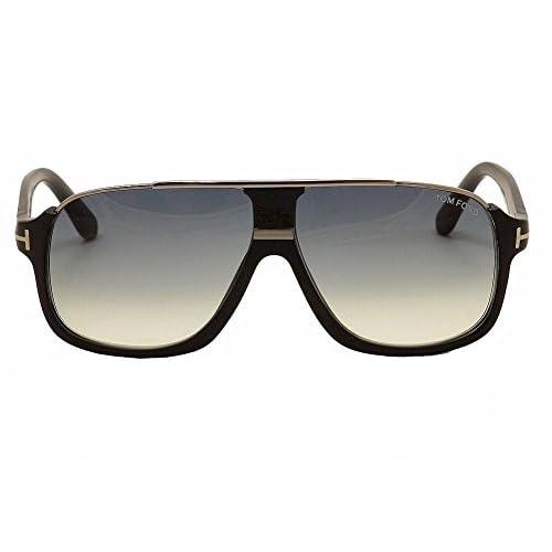 6f3bd9d1aff Tom Ford Men s Elliot Sunglasses in Matte Black Gradient Blue FT0335 02W 60  good