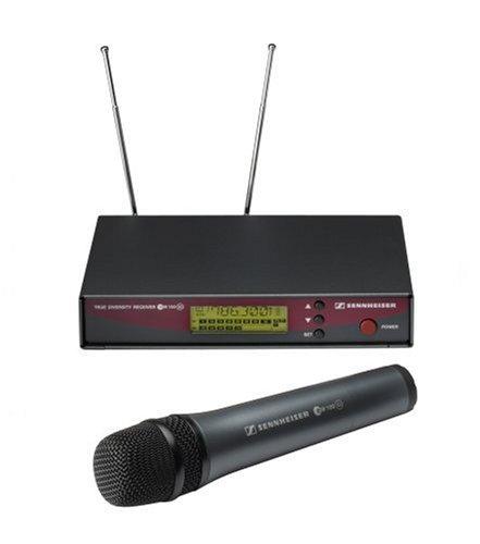 UPC 615104095359, Sennheiser EW 135 G2-B Wireless SKM Handheld Mic/Transmitter with Rack Mountable Receiver System