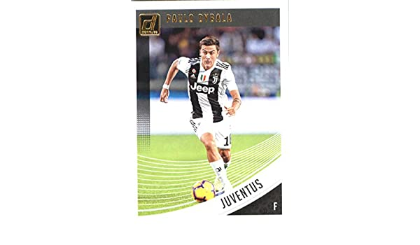 641a31c69eb Amazon.com  2018-19 Panini Donruss Soccer  11 Paulo Dybala Juventus  Official Panini 2018-2019 Futbol Trading Card  Collectibles   Fine Art