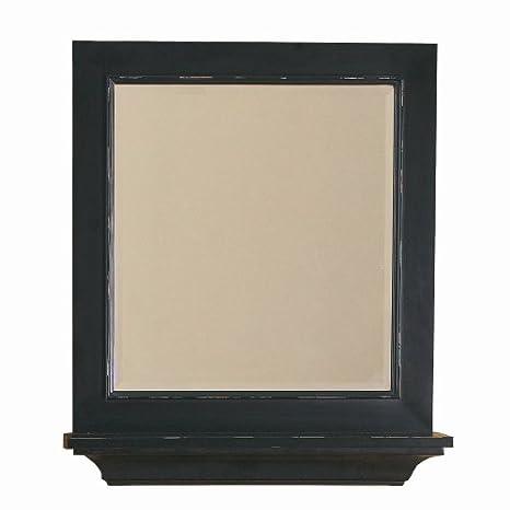 Amazon Com Decolav 9865 Des Distressed Wood Frame Mirror