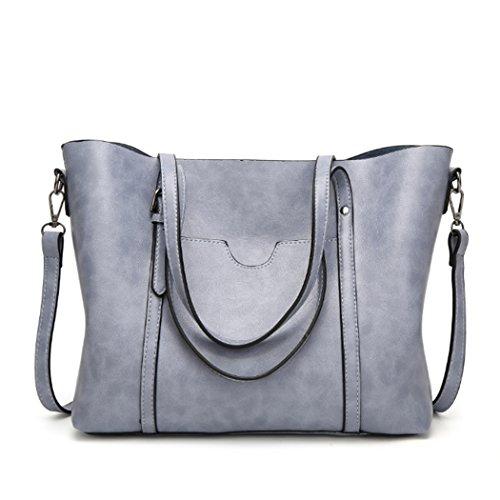 Borsa Tote De Fantastiche Claro Hombro Satchel Donne Messenger Bolso Borse Azul Bag Superiore Maniglia x8Ywx4HPq