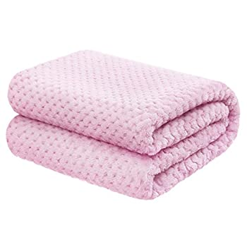 "Child Blanket for Ladies and Boys – 30""x40"" Pink – Premium Light-weight Fleece"