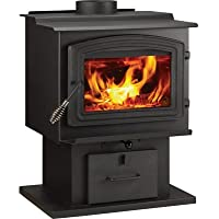 WoodPro Wood Stove - 68,000 BTU, EPA-Certified, Model# WS-TS-1500