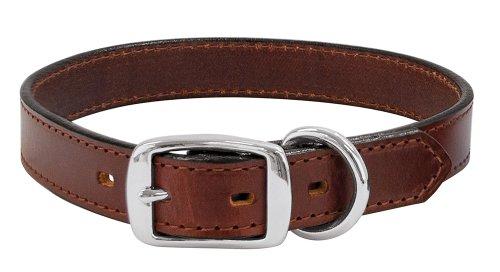 Weaver Leather Briarwood Grandeur Collar, 3/4 x 15-Inch, Brown