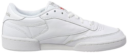 Blanc Basses 85 Red C Collegiate Navy 35 White Femme Club Reebok EU Sneakers Archive Excellent White Carbon xn17SwWa