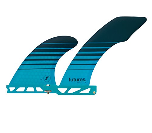 Future Fins Vector II 2+1 Hatchet Longboard V2 skeg and sidebite surfboard fin set by Future Fins
