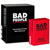 BAD PEOPLE - The Adult Party Game You Probably Shouldn't Play + The RED Expansion Pack
