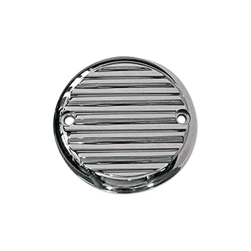 Engine Cover Finned (Joker MacHine Points Cover Finned Chrome for HD Big Twin 1984-1999 XL 2004-2012)