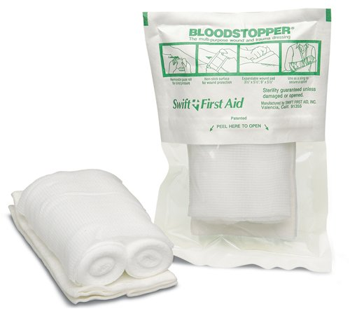 First Aid Blood Stopper Compress Multi-Purpose Wound and Trauma Dressing