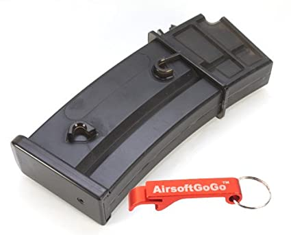 Amazon.com: Cyma 130rds hi-cap Revista para G36 Series AEG ...