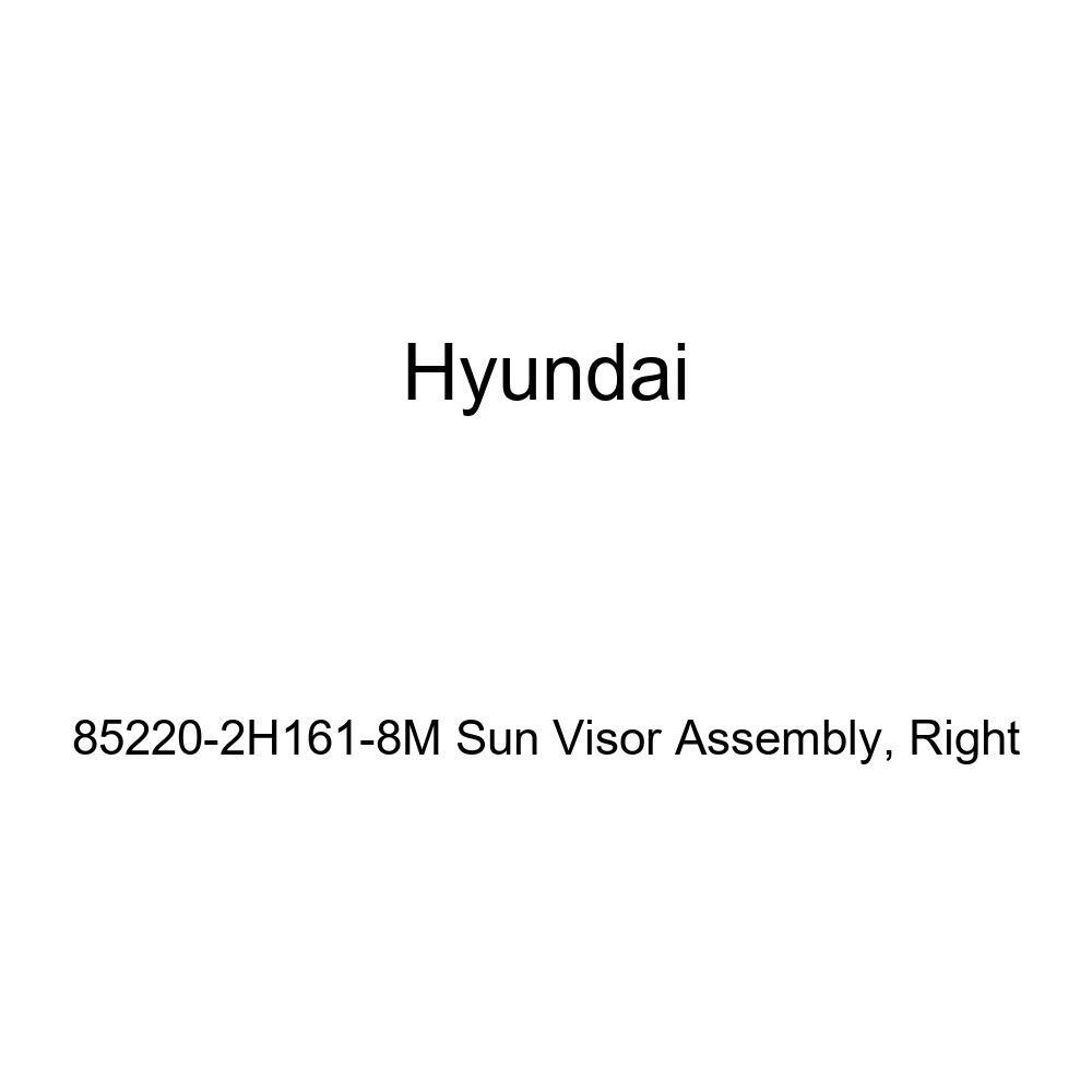 Right Genuine Hyundai 85220-2H161-8M Sun Visor Assembly