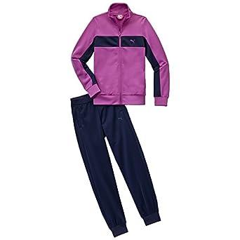 Original innovatives Design begehrteste Mode PUMA Mädchen Trainingsanzug Fun Poly Suit Closed G: Amazon ...