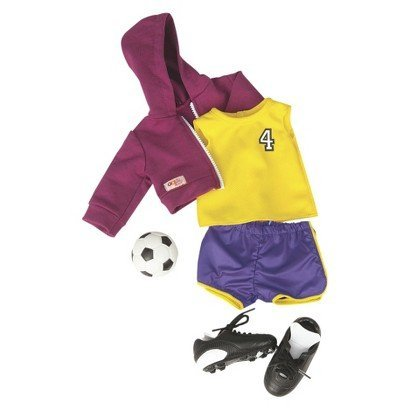 Our Generation Team Player Soccer Outfit for 18-Inch Dolls by Our Generation