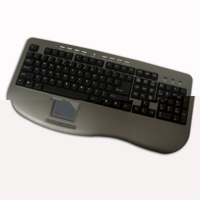 Button Touchpad Usb Glidepoint (Adesso Win-Touch Pro USB Keyboard with Wristsaver (AKB-430UG))