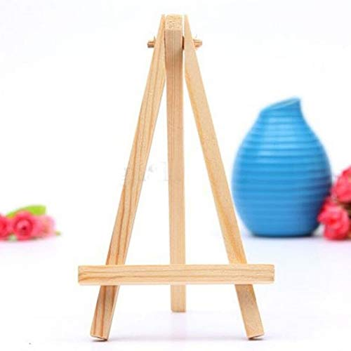 - Card Stand Holder - 5pcs Mini Artist Wooden Easel Wood Wedding Table Card Stand Display Holder 8 15cm - Sunglasses Coffee Display Holder Family Tablet Hard While Used Plus Extensions Busi