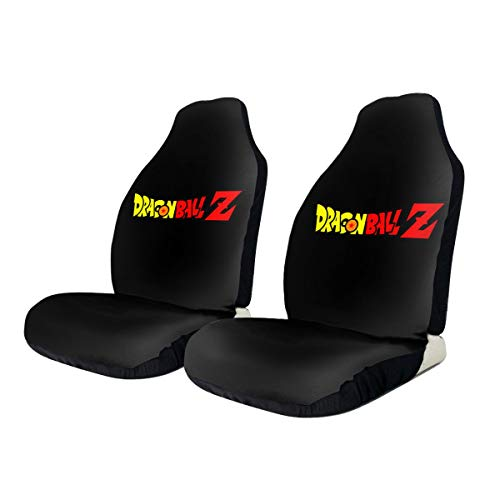Dragon Ball Z Vegeta Universal Car Front Seat Cover Safety Seat Cover Compatible with Various Vehicle Seats