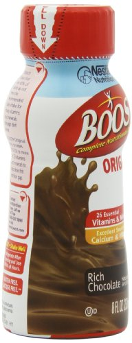 Boost Original Chocolate Ready To Drink, 8 Ounce  Pack of 12