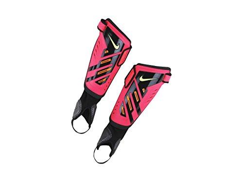Nike Protegga Shield Shin Guards [HYPER PUNCH/BLACK/VOLT] (L) (Shield Protegga)