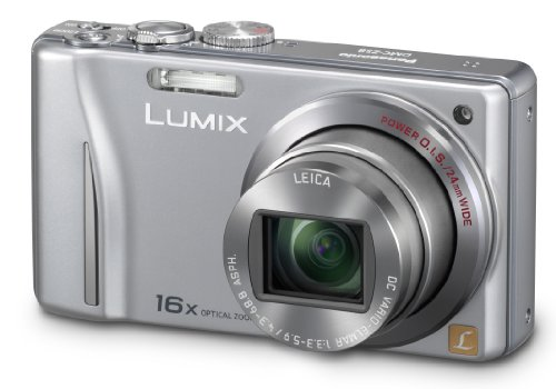 (Panasonic Lumix DMC-ZS8 14.1 MP Digital Camera with 16x Wide Angle Optical Image Stabilized Zoom and 3.0-Inch LCD (Silver))