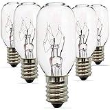25 Watt Salt Lamp Bulbs E12 Socket Incandescent Bulbs Himalayan Salt Lamp Replacement Bulbs 5 Pack(salt lamp bulbs)
