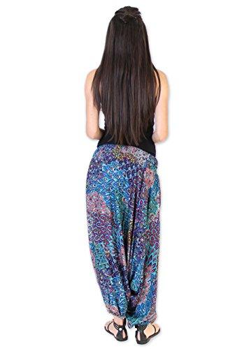 Coton Du Monde - Pantalón - para mujer Multicolor