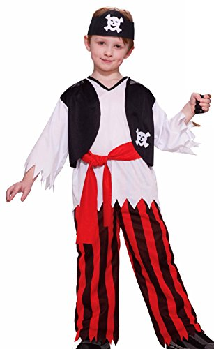 Forum Novelties Pirate Boy Costume, Child Medium -