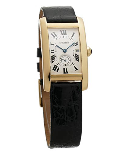 Cartier Tank Americaine Quartz Male Watch 8012905 (Certified Pre-Owned)