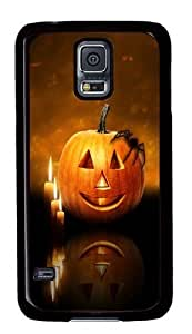 Cute Painting Happy Halloween 8 Cover for Samsung S5 and Samsung Galaxy S5