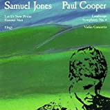 Cooper: Concerto for violin No2; Symphony No. 4 (Landscape) / Jones: Let Us Now Praise Famous Men for winds, strings & percussion; Elegy for String Orchestra