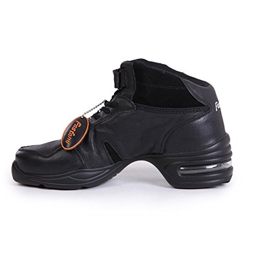 Professional Leather Black Jazz Dance Ruanyi Men cushion Shoes Women for Jazz Shoes Genuine Platform Black Shoes air White Dance 0IdwwxHS