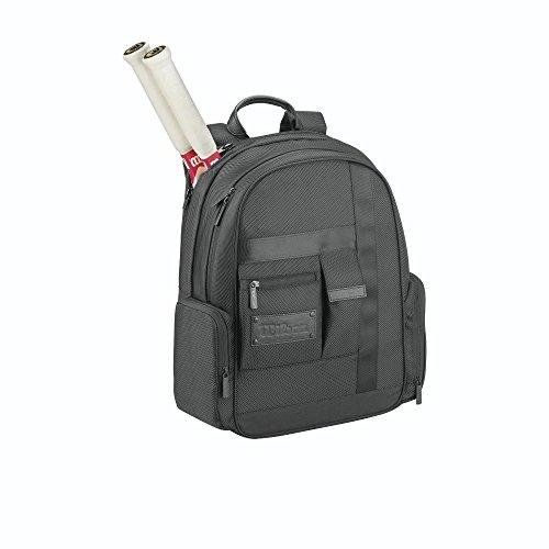 Wilson Rucksäcke Agency Backpack, Schwarz, 37.5 x 17.5 x 46.5 cm, 30 Liter, WRZ852596