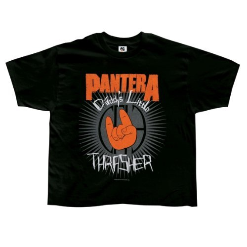 Pantera Baby Onesie - Pantera - Baby-boys Daddys Little Thrasher Toddler T-shirt 4t Black