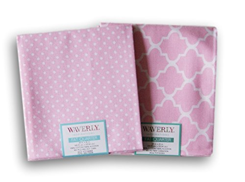 waverly-inspirations-fat-quarters-bundle-pink-and-white-pattern-theme