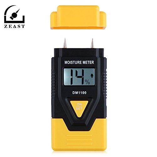 AMZVASO - DM1100 3 in 1 Digital Wood Moisture Meter Concrete Sawn Timber Moisture Meters With CE Portable Digital Building Materials