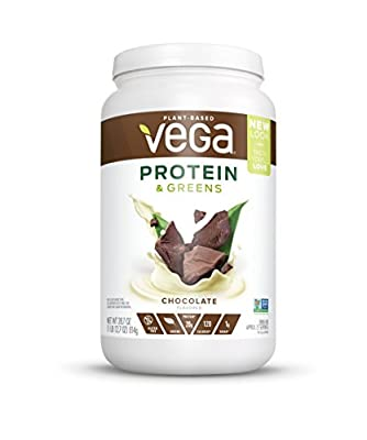 Looking for more than just protein powder? Deliciously smooth, Vega Protein & Greens helps add effortless nutrition with real, plant-based food ingredients like spinach and kale. Start your day with plants by shaking up one serving of Vega Protei...