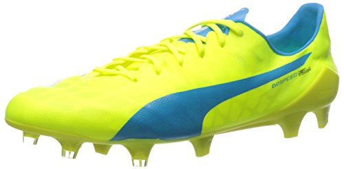 eba8a11d8 PUMA Men's Evospeed SL FG Soccer Cleats, Safety Yellow/Atomic, ...